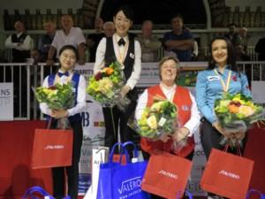 Orie Hida uit Japan is de nieuwe wereldkampioene driebanden dames
