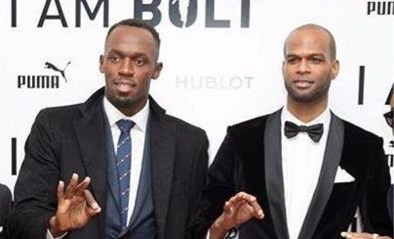 Pakkend: Usain Bolt graaft graf voor verongelukte beste vriend