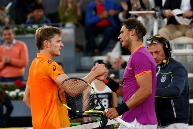 David Goffin behoudt tiende plaats op ATP-ranking, Rafael Nadal wordt vierde
