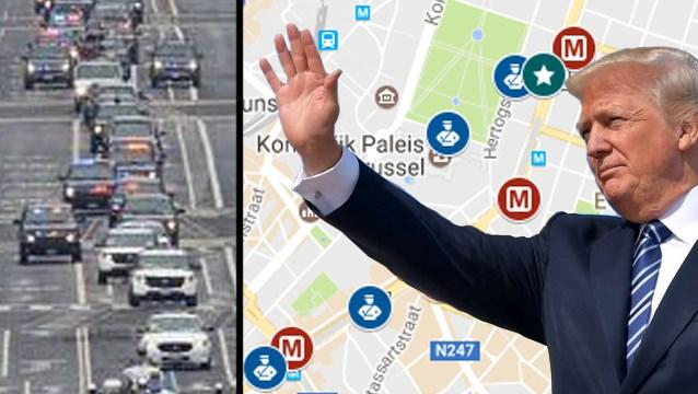 Komst Trump heeft gevolgen voor auto, bus, tram én vliegtuig