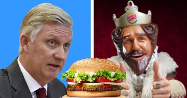 """Het paleis is absoluut niet opgezet met reclamecampagne: """"Wie is de beste koning: Filip of Burger King?"""""""