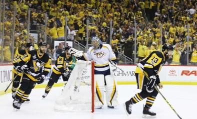 Titelverdediger Pittsburgh wint eerste manche van Stanley Cup
