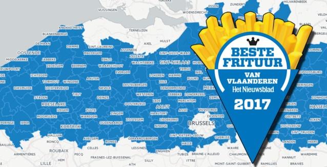 OVERZICHT. Dit zijn de beste frituren van Vlaanderen
