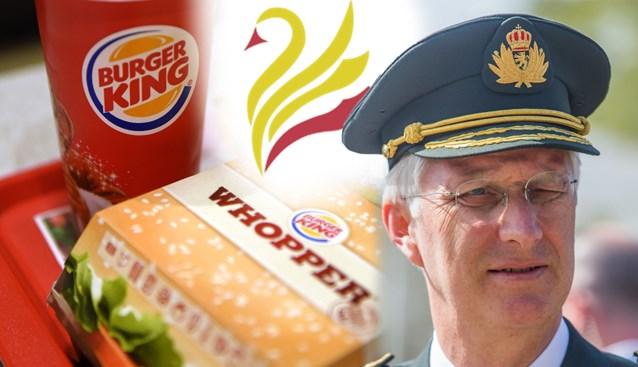 Mysterieus genootschap neemt wraak op Burger King voor frats met koning Filip… en denkt aan nog meer acties