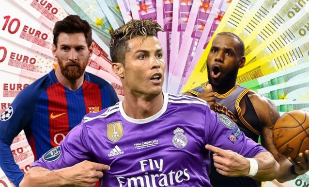 De 100 Best Betaalde Sporters Ter Wereld 99 Mannen En één