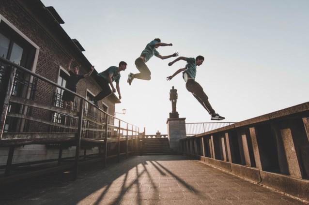 """'Springer' Simeon (19): """"Hopelijk komt er een parkourpark in Antwerpen"""""""