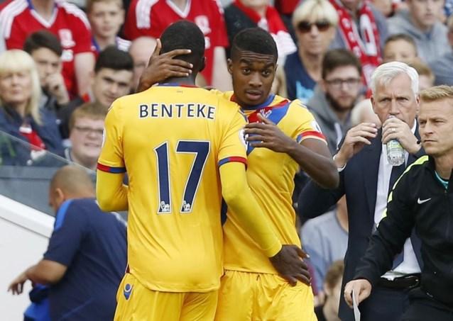 Jonathan Benteke vertrekt bij Crystal Palace