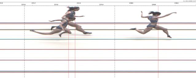 Riet Vanfleteren Belgisch kampioene 800 meter