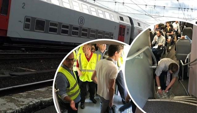 Duizend reizigers urenlang vast door geblokkeerde trein in Denderleeuw