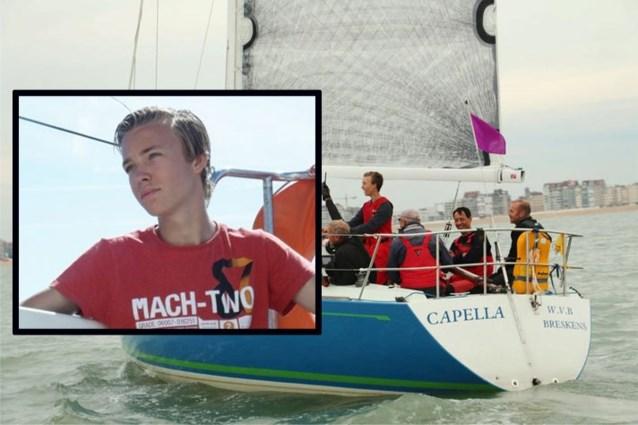 Zeiljacht gekapseisd voor Oostende: lichaam van vermiste zeiler (18) na twee weken gevonden