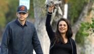 Mila Kunis en Ashton Kutcher voor het eerst met voltallig gezin gefotografeerd, maar dat is niet naar hun zin