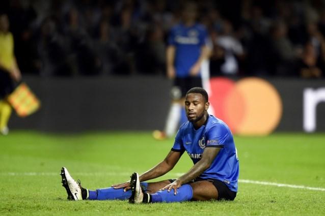 Is doelpuntenmaker Denswil aan laatste matchen bezig voor Club Brugge?