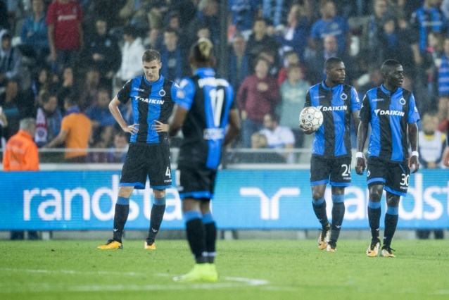 Champions League wordt moeilijk voor Club Brugge na knotsgek gelijkspel