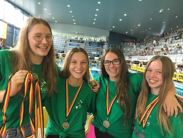 Zwemclub Aart Meise valt in de prijzen op BK