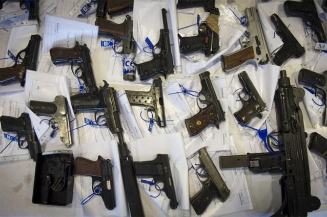 Bijna 11.000 meer geregistreerde wapens in een jaar tijd