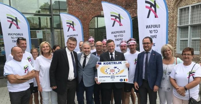 Jury komt sportbeleid in Kortrijk keuren