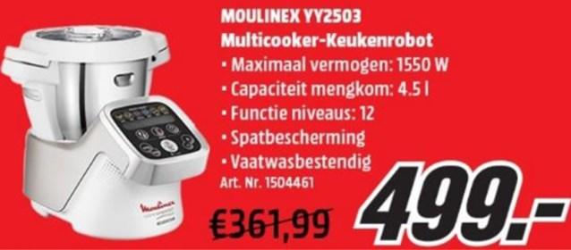 Media Markt stunt met keukenrobot: van 361 euro naar... 499 euro