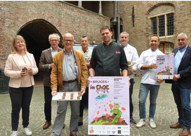 Vijftig chocolatiers op Bruges in Choc