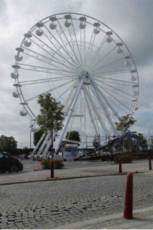 35 meter hoog reuzenrad voor het eerst in België