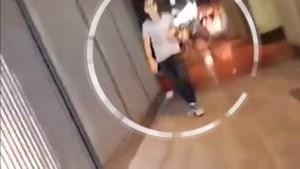 Nieuwe beelden tonen terrorist na aanslag Ramblas: rustig stappend en pratend