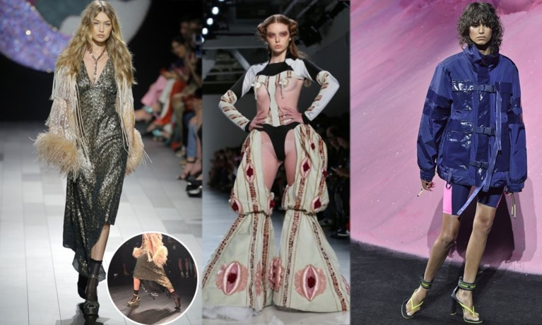 Rubber, leder en nieuw talent: dit was de modeweek van New York