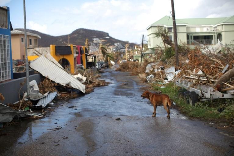 Het eiland werd al zwaar getroffen door Irma en nu moet Sint-Maarten weer vrezen voor nieuwe orkaan