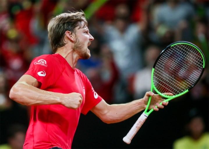 België naar de finale van de Davis Cup! Sterke Darcis volgt voorbeeld van Goffin en wint makkelijk