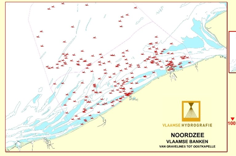 Duikboot uit WO I met 23 lichamen aan boord gevonden in de Noordzee