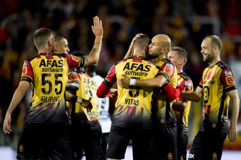 AA Gent stoot door na hattrick Milicevic, Zulte Waregem maakt het spannend, ook geplaagd Oostende geplaatst