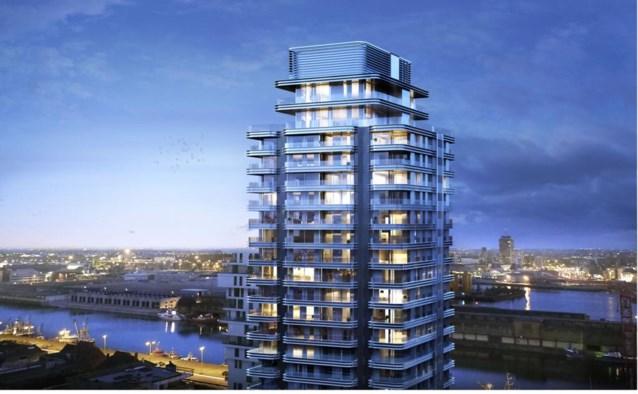 Oosteroever krijgt  toren van 26 verdiepingen