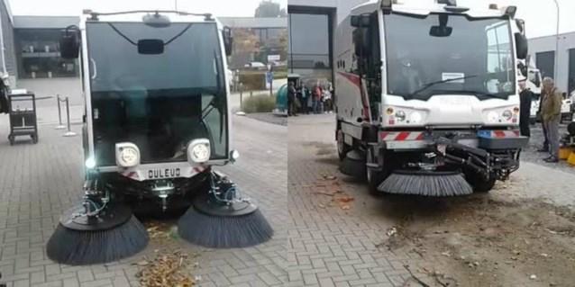 Kapelse firma lanceert met nieuwe straatveegmachines twee wereldprimeurs