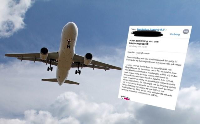 Ze beloven je gratis vliegtickets, dan dreigen ze je af tot je betaalt