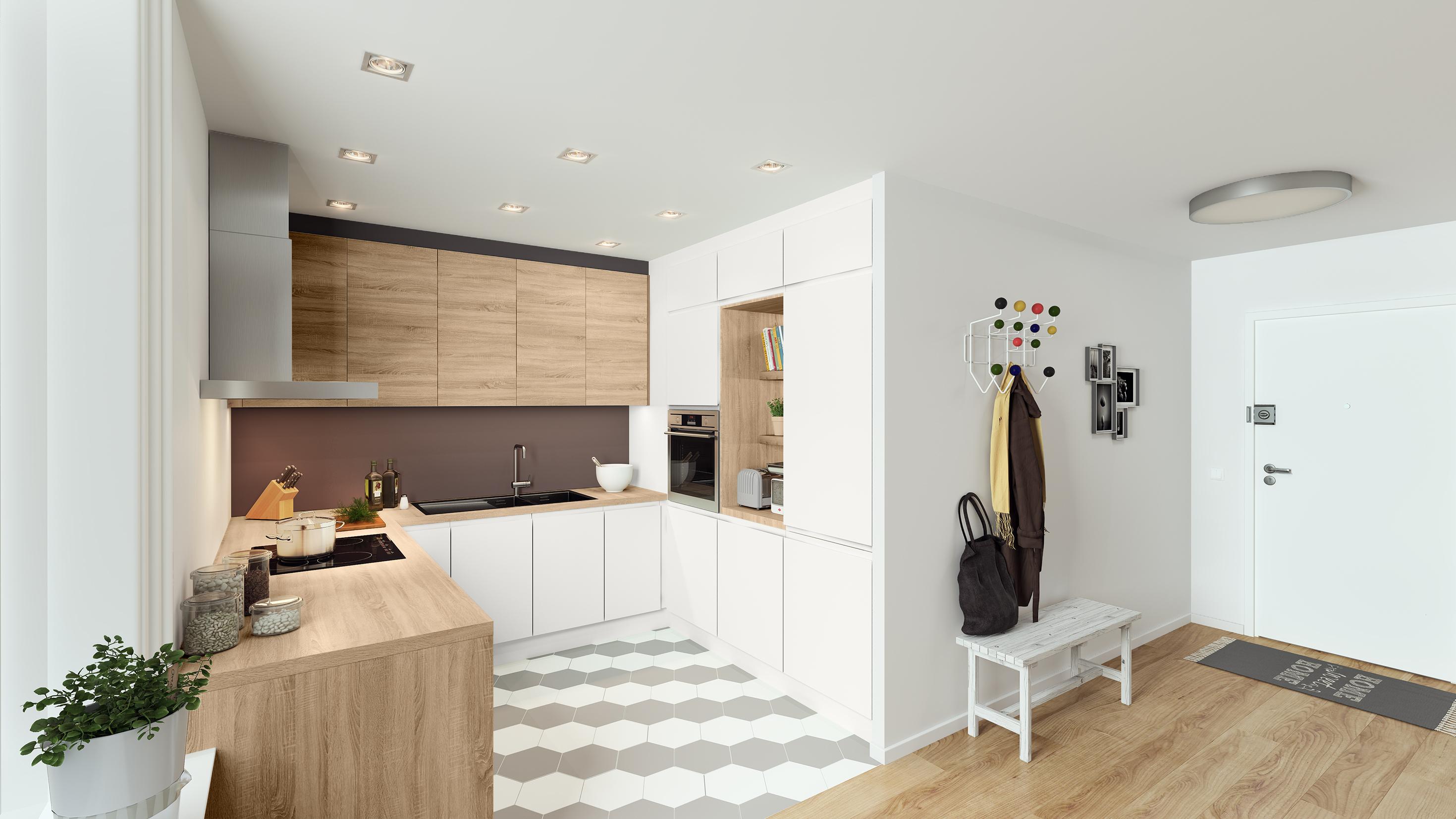 Onwijs Kleine keukens, groot plezier - Gazet van Antwerpen Mobile JP-76