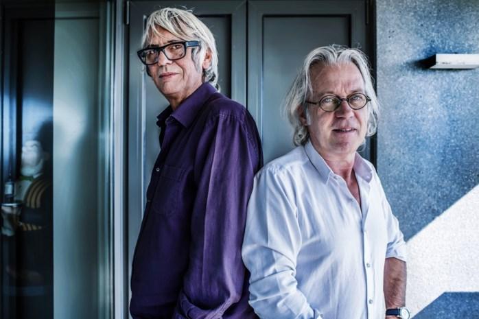 Afscheid van een muze. Samen met vriend en cartoonist Marec neemt Pieter Aspe afscheid van zijn Bernadette