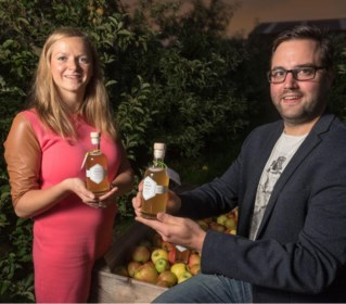 Duo maakt 'Azwijn' van lokale appels
