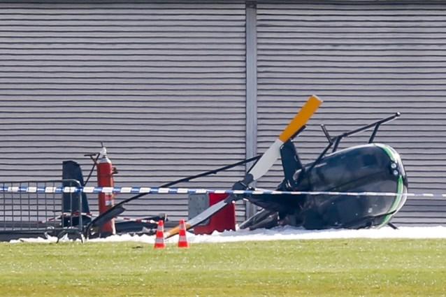 Drie gewonden bij ongeval met helikopter in Temploux