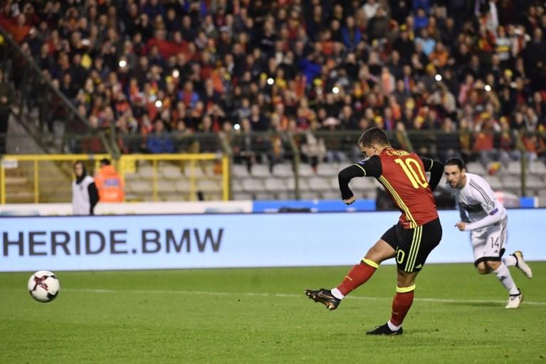 Hazard-broers aan het kanon: Rode Duivels als reekshoofd en met evenaring van record naar WK