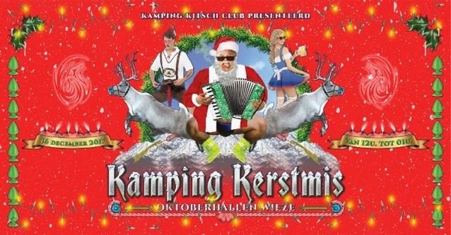 Hou je klaar voor de kersteditie van Kamping Kitsch Club met niemand minder dan Hot Marijke