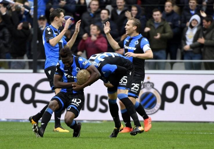 Club Brugge bibbert naar thuiszege tegen Antwerp en staat acht punten los