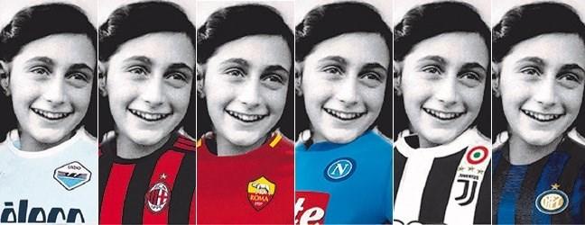 Hoe Anne Frank tot een gigantische rel in het Italiaanse voetbal heeft geleid