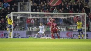 Deze fraaie volley van Anderlecht-huurling Thelin was Doelpunt van de Week op speeldag 11