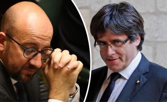 Regering onder hoogspanning: Michel verbiedt alle contact met Puigdemont
