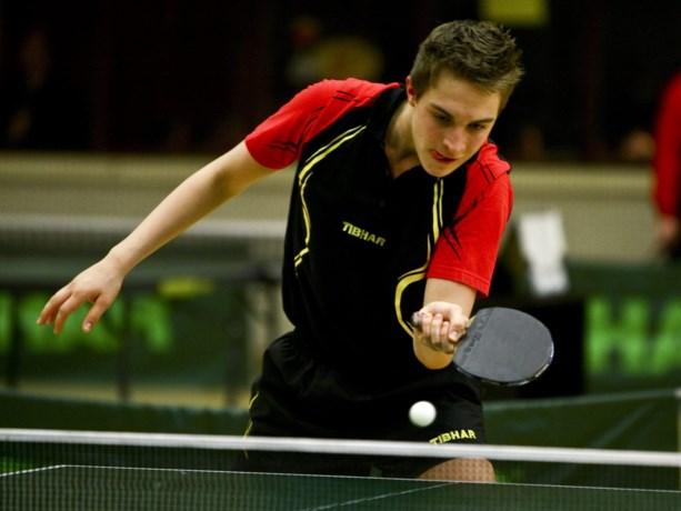 Belgische tafeltennistoppers willen zich tonen op Belgium Open in De Haan