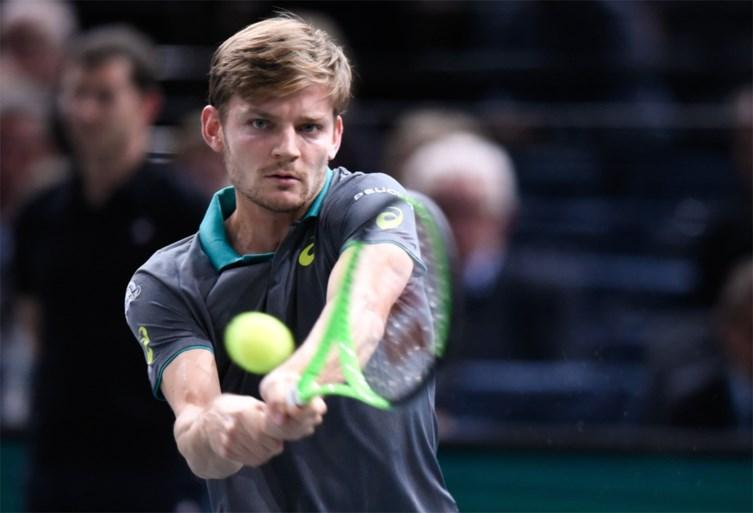 Goffin is zeker van ATP Finals ondanks vroege uitschakeling in Parijs