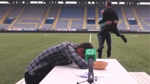 Dolle pret bij STVV: Casper De Norre wordt 'De Snorre' na hilarische uitdaging