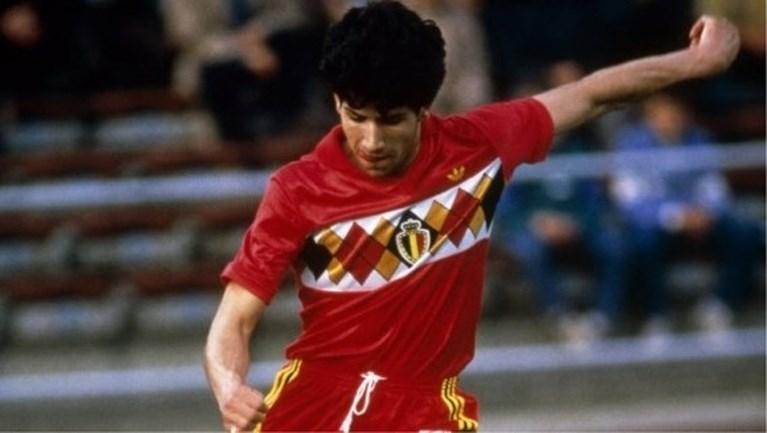 Officieel: dit is het nieuwe shirt van de Rode Duivels, een eerbetoon aan iconische truitjes van 1984