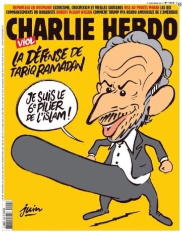 Opnieuw doodsbedreigingen voor Charlie Hebdo na nieuwe controversiële voorpagina