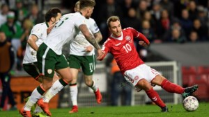 Ierland houdt stand in Denemarken en behoudt alle kansen op WK-ticket