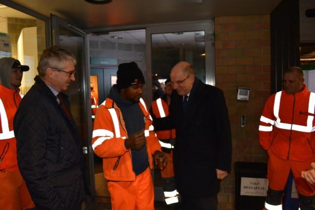 Minister Koen Geens bracht bezoek aan de Intradura site te Drogenbos