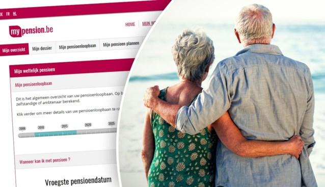 Bekijk hier hoeveel uw pensioen zal bedragen op basis van uw huidige loopbaan